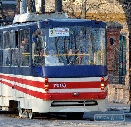 Восстановлено движение двух трамваев, парализованное из-за упавших деревьев