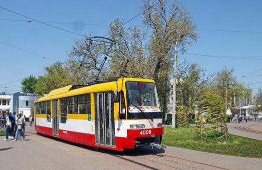 Фонтанские трамваи вернулись на линию