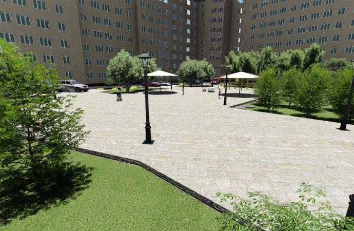 «Европейский дворик» планируют построить  в Одессе к концу года