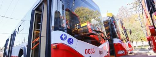 В Одессе меняют маршрут 14-го троллейбуса
