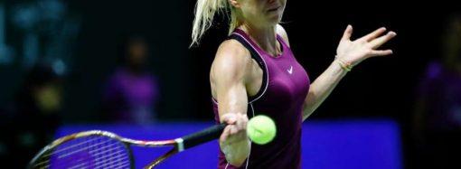 Большой теннис: одесситка Свитолина встретится с первой ракеткой мира