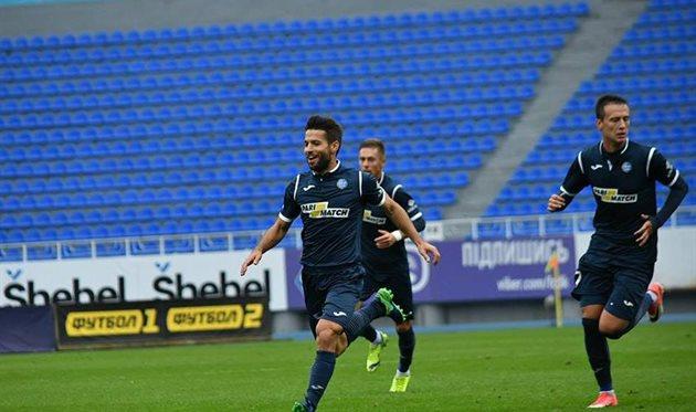 «Черноморец» проиграл в выездном матче донецкому «Олимпику»