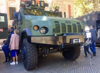 В Одессе устроили выставку военной техники
