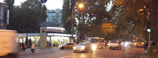 Изменена схема проезда одного из оживлённых участков одесских дорог