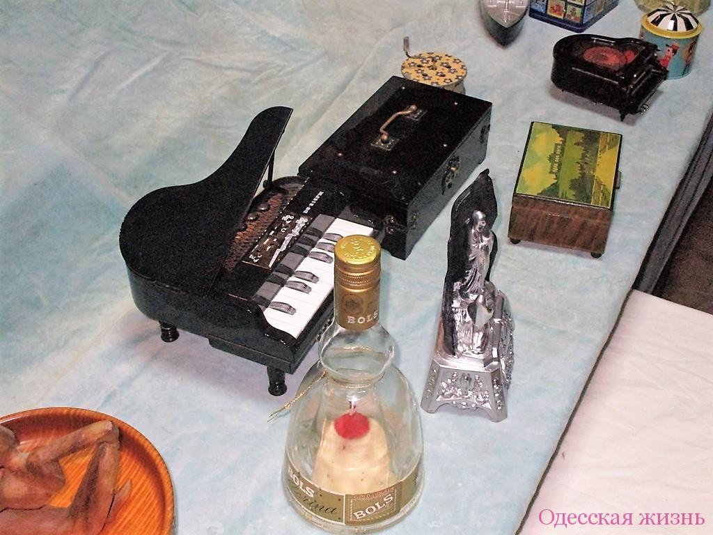 Коллекция музыкальных шкатулок