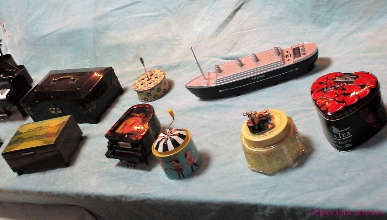 Шкатулки из Музея звука