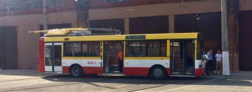 Одесские чиновники планируют наладить в Одессе производство электробусов