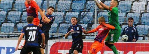 «Черноморец» «старался», но проиграл матч с «Мариуполем»