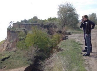 Очередной оползень произошёл на побережье Одесчины (ФОТО)