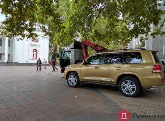 «Героев парковки» в Одессе будут штрафовать муниципалы