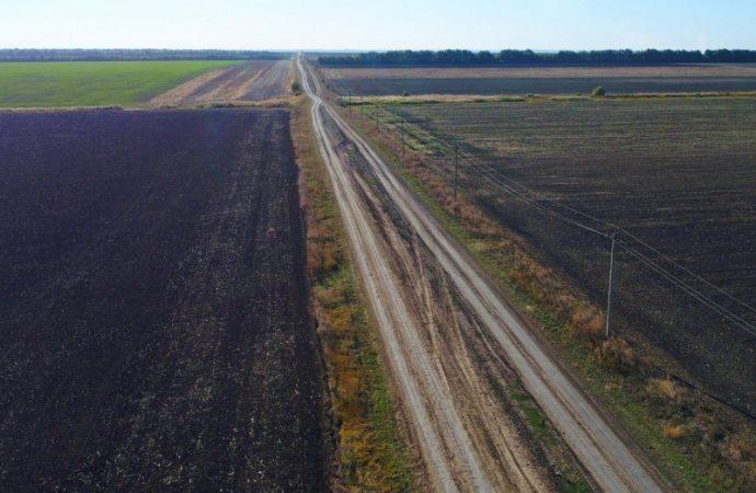 Для жителей сел, которые 10 лет были «отрезаны» от Одесской области, начали делать временную магистраль
