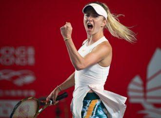 Сразу две одесские теннисистки с разгромным счетом победили соперниц на пути в 1/4 турнира в Гонконге