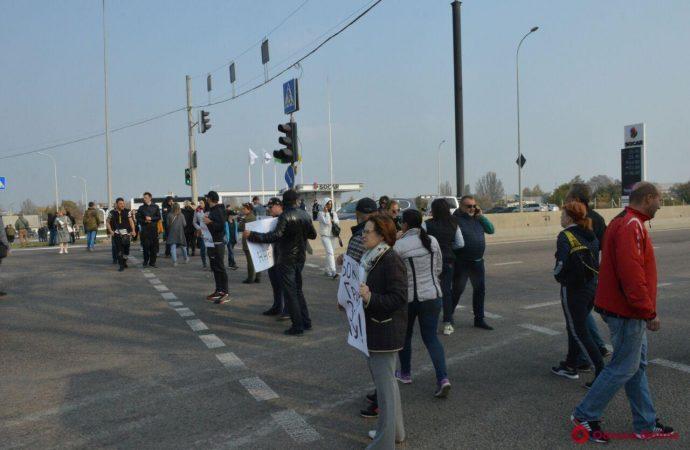 Одесские активисты пообещалиблокировать дороги во время визита Зеленского