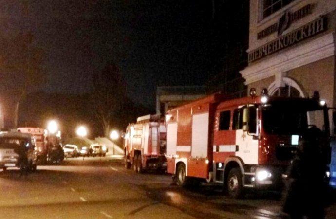 пожар на Черноморце