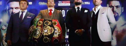 Александр Усик защитит титул абсолютного чемпиона мира по боксу