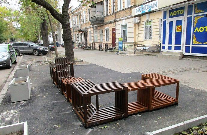В Одессе появился парклет номер 2, и как поживает первый?