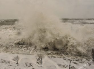 Последствия бури: часть населенных пунктов Одесской области остались без света