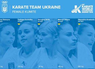 Одесситка заняла первое место в рейтинге лучших каратисток планеты