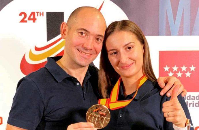 Чемпионкой мира по каратэ стала одесситка в составе сборной Азербайджана