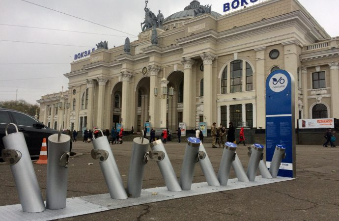 Система велопроката в Одессе: презентована сегодня, заработает весной