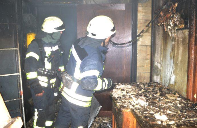 пожар в Красном переулке