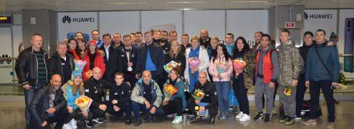 Одесские самбисты завоевали 3 награды на юбилейном чемпионате мира