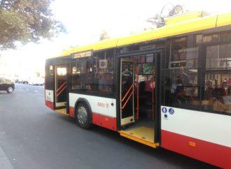 Одесские троллейбусы сегодня вечером не будут ходить по Канатной