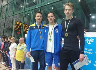 Одесситы завоевали восемь медалей за два дня Чемпионата Украины по плаванию среди юниоров