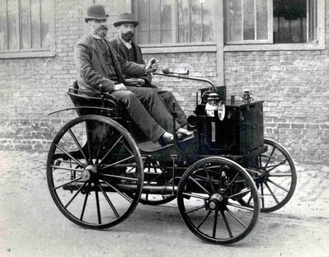 первый автомобиль в одессе