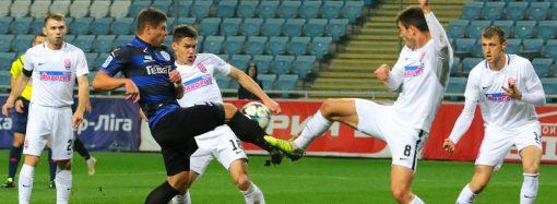 Матч при пустых трибунах завершился очередным поражением «Черноморца»