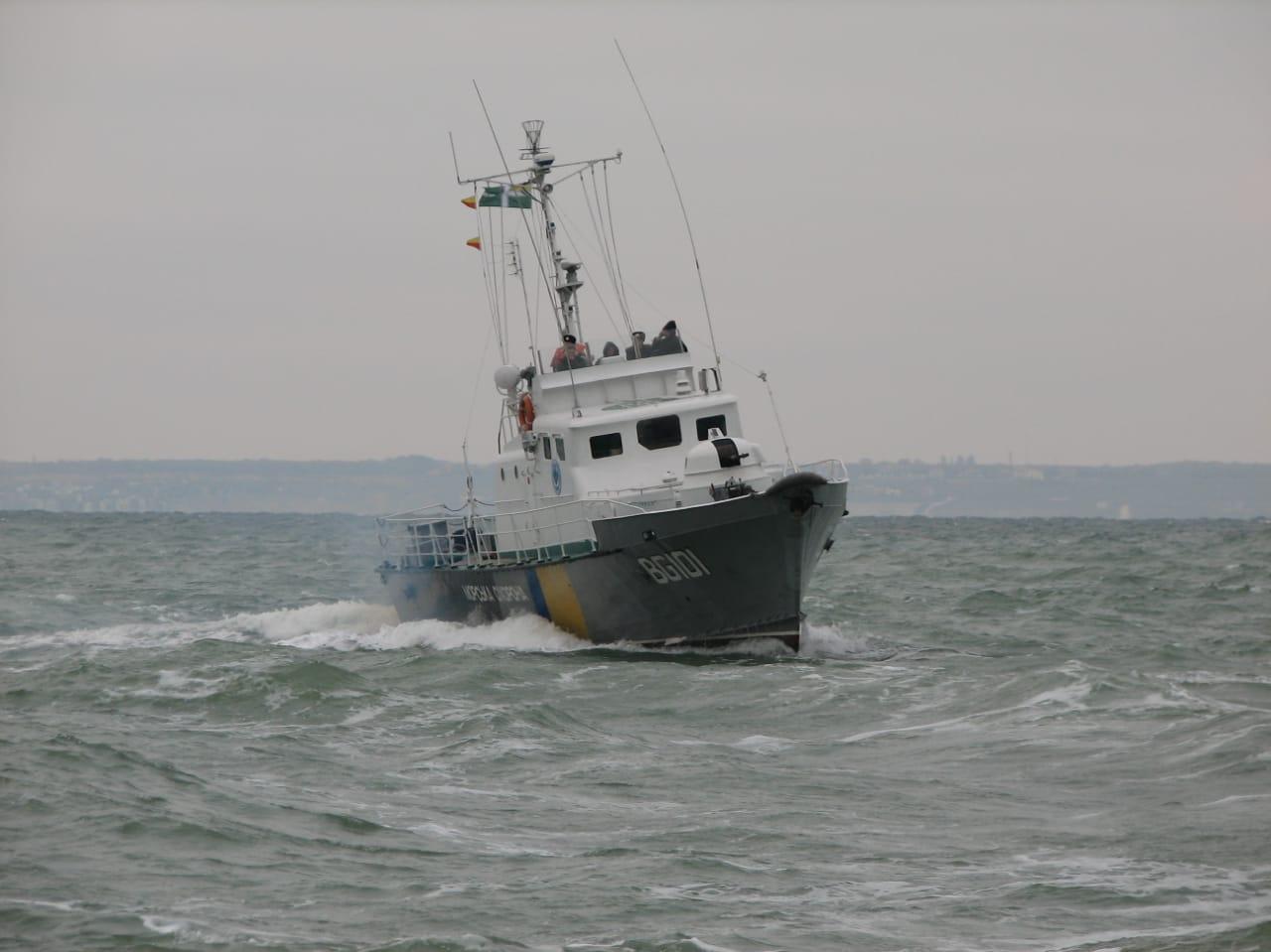 катер морской охраны