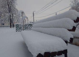 Часть Одесской области завалило снегом (ФОТО)