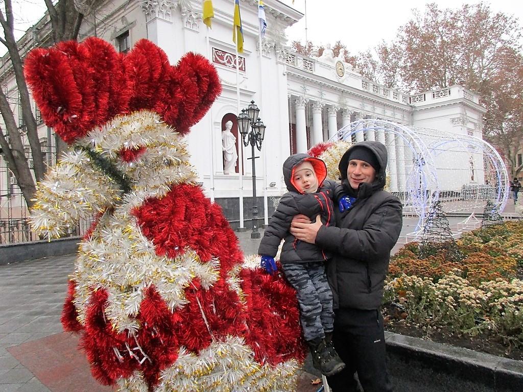 Игорь Вайнфельд с сыном Ростиком