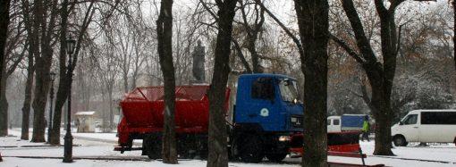 В Одессе появился штаб по борьбе со снегом