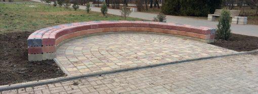 Скамейка-признание скоро появится в одном из одесских парков