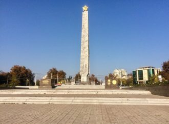 Обелиск на площади 10 Апреля будет реконструировать компания, которая строит корпуса для университета МВД