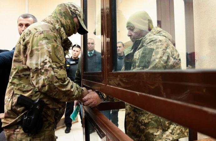 Арестованные в России украинские моряки официально объявили себя военнопленными
