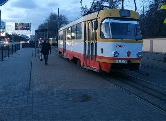 Четыре трамвая перестали курсировать из-за обрыва контактной сети