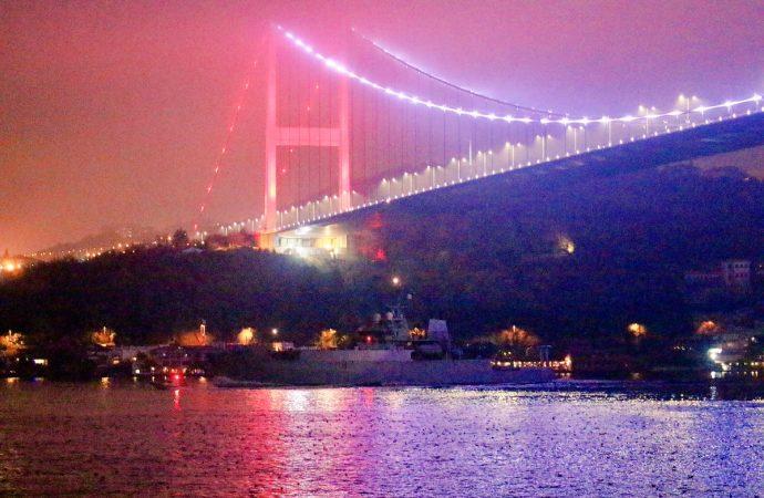 Королевский флот возвращается в Черное море: британский корабль прошел Босфор