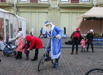 Предновогодний велопробег, или как в Одессе Новый год зазывали