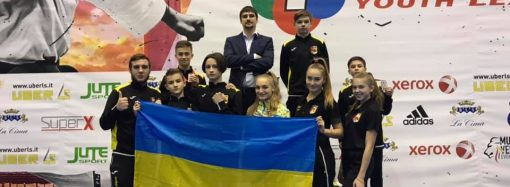 Одесский каратист стал лучшим в соревнованиях Молодежной лиги в Италии