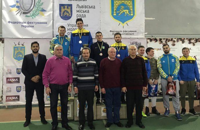 Одесский фехтовальщик подтвердил статус самого сильного в Украине