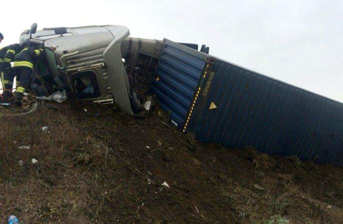 ДТП на Клеверном мосту: водителя спасали спасатели