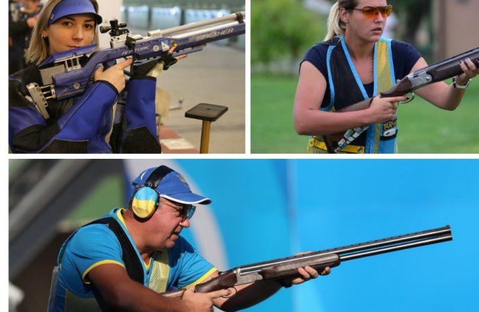 Три одесских стрелка обеспечили себе путевки на Европейские игры нынешнего года