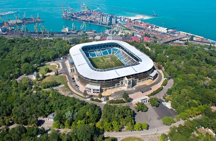 """Американская компания планирует инвестировать 10 млн долларов в одесский стадион """"Черноморец"""""""