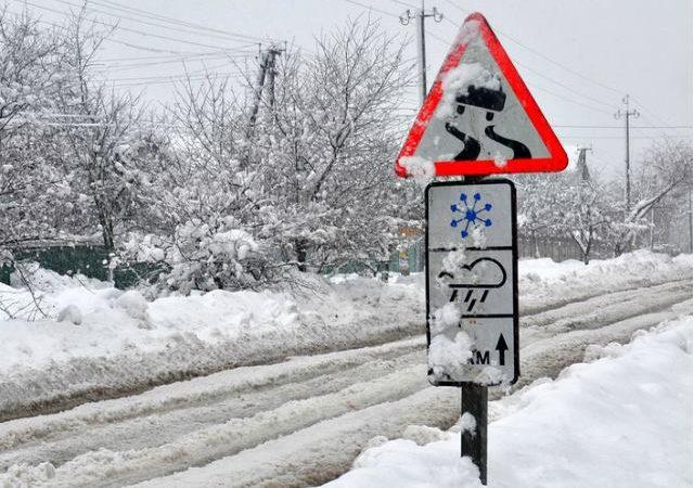 Погода 10 января. Одессу ждёт мокрый снег и метель
