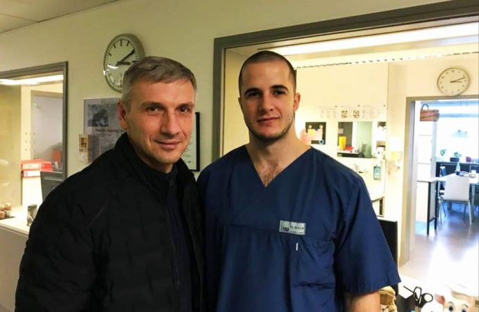 Одесского активиста выписали из немецкой больницы