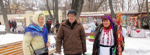 Как гуляют на Рождество в центре: на Дерибасовской скользко, в Горсаду – весело