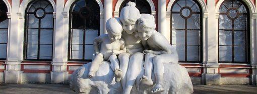 «Ампутированную» конечность скульптуры-фонтана скоро восстановят