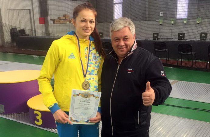 Одесская фехтовальщица завоевала «бронзу» в Киеве и будет сражаться за Кубок мира в Нью-Йорке